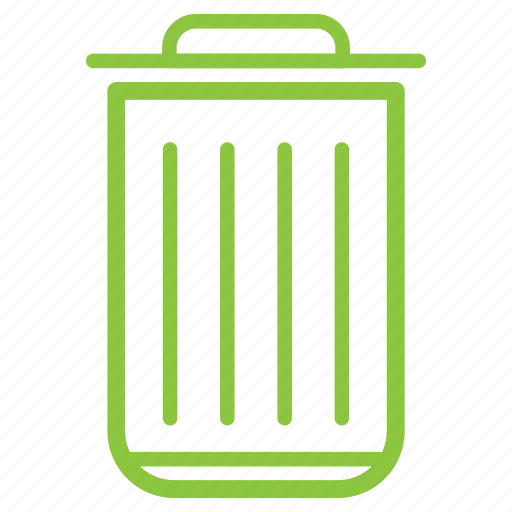 bin, can, recycle, trash, waste icon