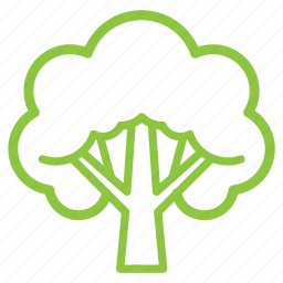 ecology, green, nature, organic, tree icon