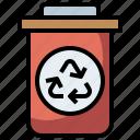 basket, bin, can, electronics, garbage, interface, tools, trash, utensils icon
