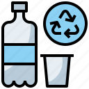 bin, ecology, garbage, plastic, recycle, recycling, trash icon
