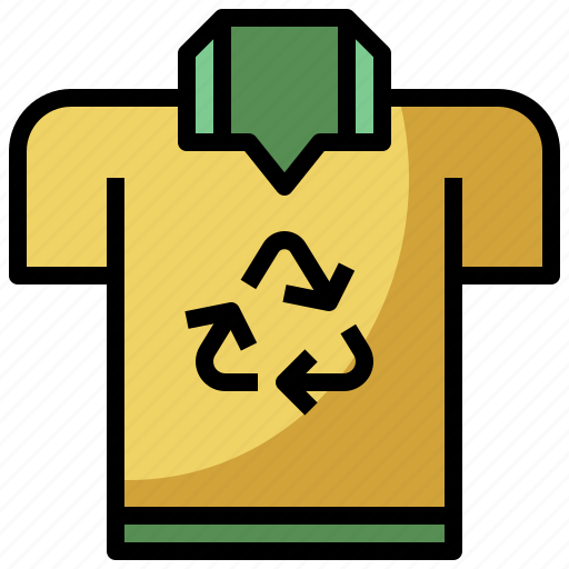 arrows, clothing, ecological, fashion, recycle, recycling icon