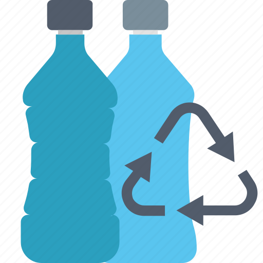 bottle, eco, ecology, environment, plastic, recycling icon