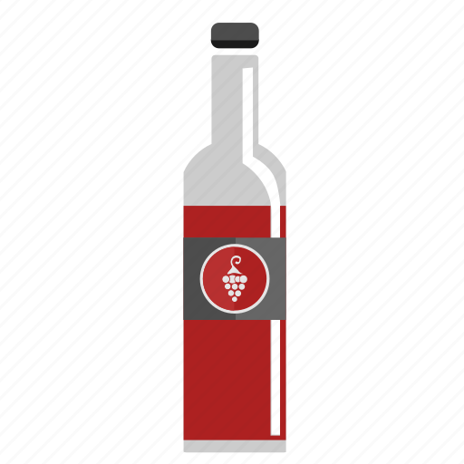 Alcohol, bottle, red, wine icon - Download on Iconfinder