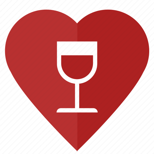 Bocal, drink, love, red, romantic, wine icon - Download on Iconfinder