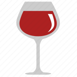 alcohol, bocal, drink, red, wine icon