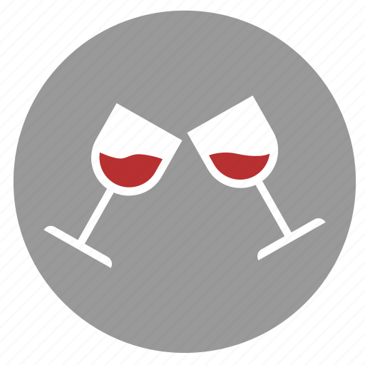 alcohol, bocals, drink, party, red, wine icon