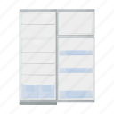 appliances, equipment, freezer, household, kitchen, refrigerator icon