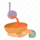 bowl, cartoon, charity, food, hand, hungry, poverty icon