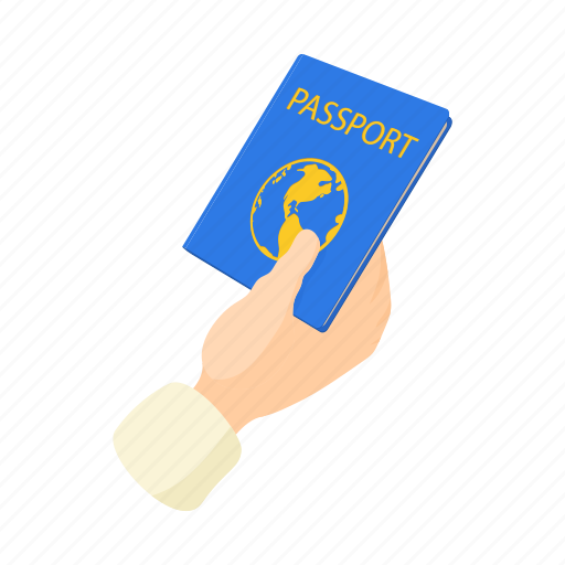 document, identity, immigration, passport, tourism, tourist, vacation icon