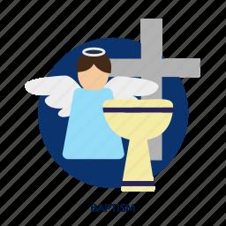 baptism, christening, christian, church, event, newborn, religion icon
