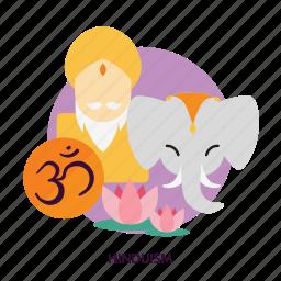 culture, hinduism, religion, sanskrit, spiritual, traditional icon