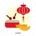 chinese, festival, lunar, religion, traditional, year icon