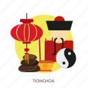chinese, asia, canton, traditional, new, tionghoa