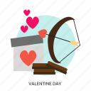 couple, day, religion, romance, valentine, valentine day icon