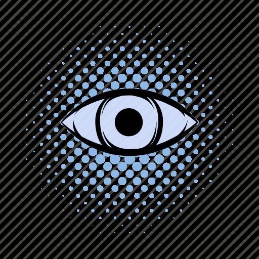 awareness, comics, egyptian, eye, horus, illuminati, seeing icon