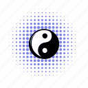 balance, comics, harmony, living pictogram, yang, yin, ying icon