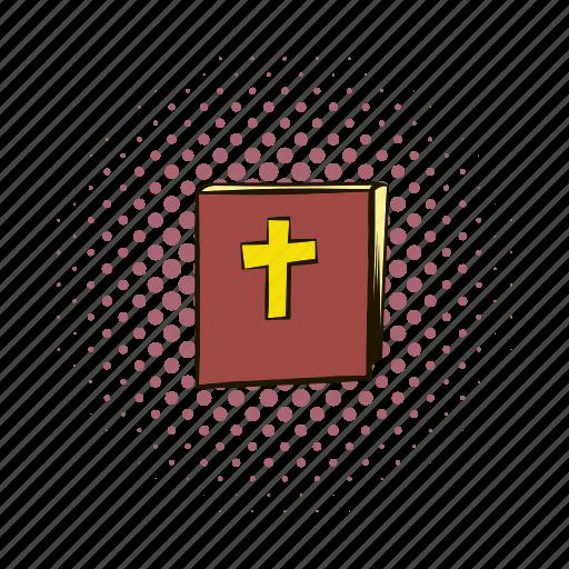 bible, book, christianity, comics, paper, religion, spirituality icon