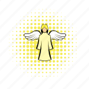 angel, christianity, comics, herald, religion, saint, wings icon
