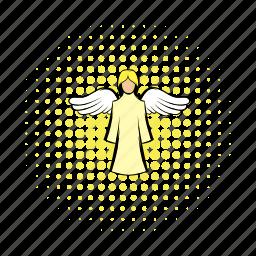 angel, christianity, comics, herald, religion, saint, wings icon