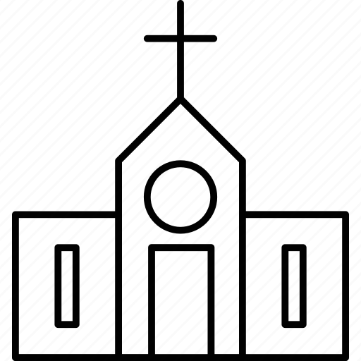 christianity, church, religious, sign icon