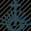 christian cross, ichthys, christendom, christianity