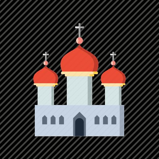 building, church, cross, religious icon