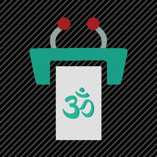 Desk, hindu, hinduism, religious icon - Download on Iconfinder