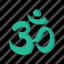 hindu, om, religious, hinduism, religion