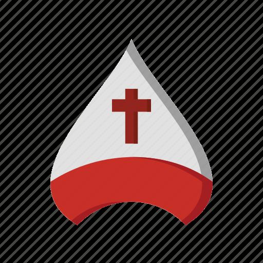 cap, christianity, cover, cross, religious icon