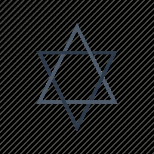 Judaism, relgious, religion, religious, sign icon - Download on Iconfinder
