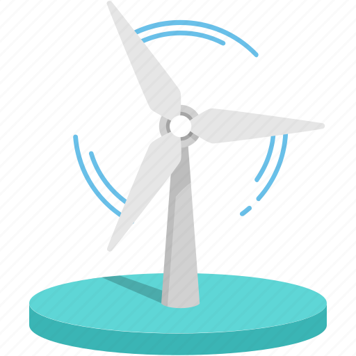 clean, energy, power, renewable, saving earth, wind icon