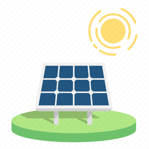 energy, power, renewable, saving earth, solar, solar panels, sun icon