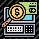 banking, check, credit, financial, loan icon
