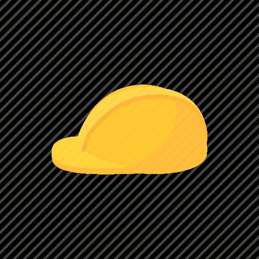 cartoon, construction, hat, helmet, industrial, work, worker icon