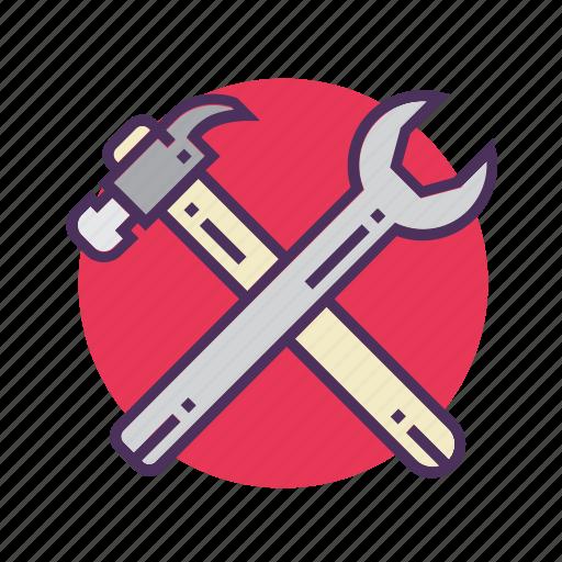 building, construction, equipment, industry, maintenance, repair tool, work icon