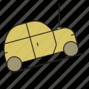car, car repairs, creation of a car, lifting car, repairs icon
