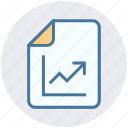 analytics, bars, graph, page, reports, stabilization icon