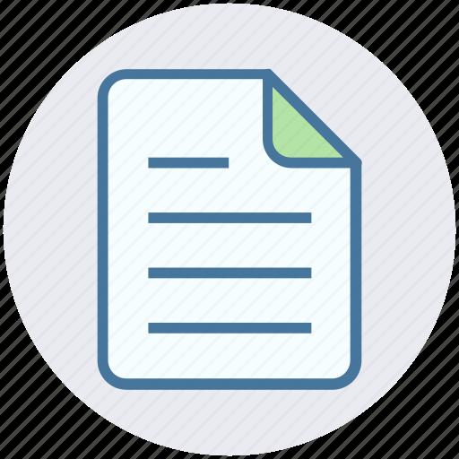 Analytics, document, file, list, page, statistics icon - Download on Iconfinder