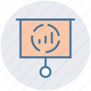 analytics, board, chart, diagram, financial report, growth, statistics icon