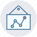 analytics, bars, board, graph, reports, stabilization icon