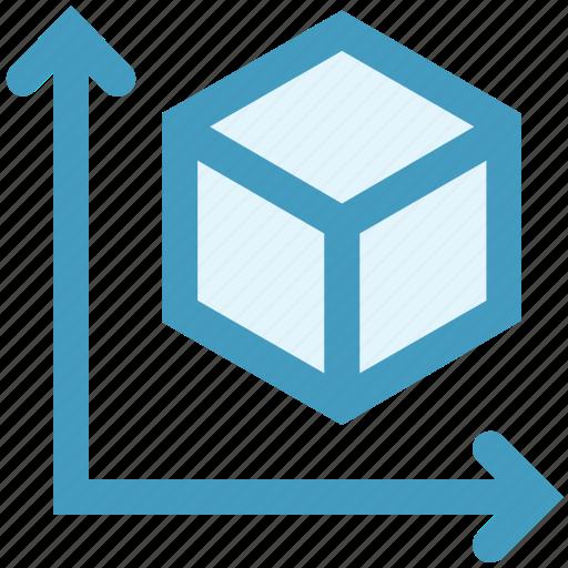 analytics, box, chart, graph, report, sales, statistics icon
