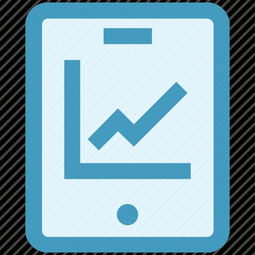 analytics, bars, graph, mobile, reports, stabilization icon
