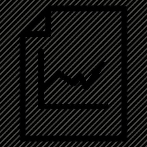 analytics, document, file, report icon
