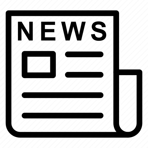 article, newspaper, press, reading icon