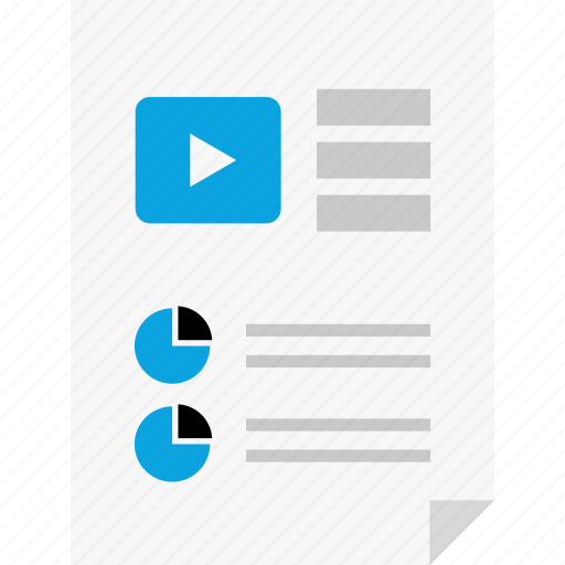 chart, layout, page, pie, report, reports, youtube icon