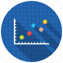 analytics, infographic, line chart, line graph, statistics icon