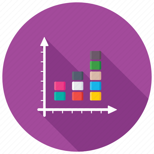 bar chart, business graphic, clustered chart, columns chart, stacked chart icon