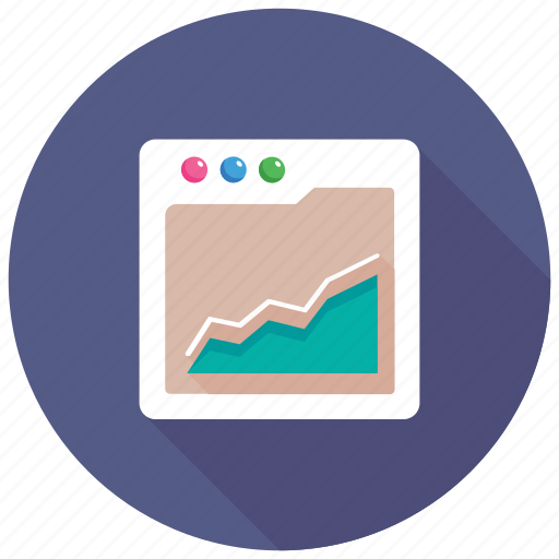 Compensation graph, market analysis, income inequality concept, business graph, risk reward graph icon