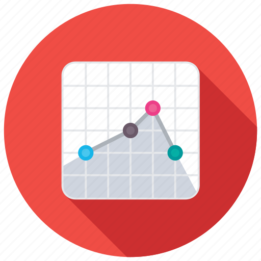 business analysis, business loss, financial performance, loss chart, loss graph icon