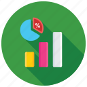 analytics, dashboard, data visualization, pie chart, pie graph icon